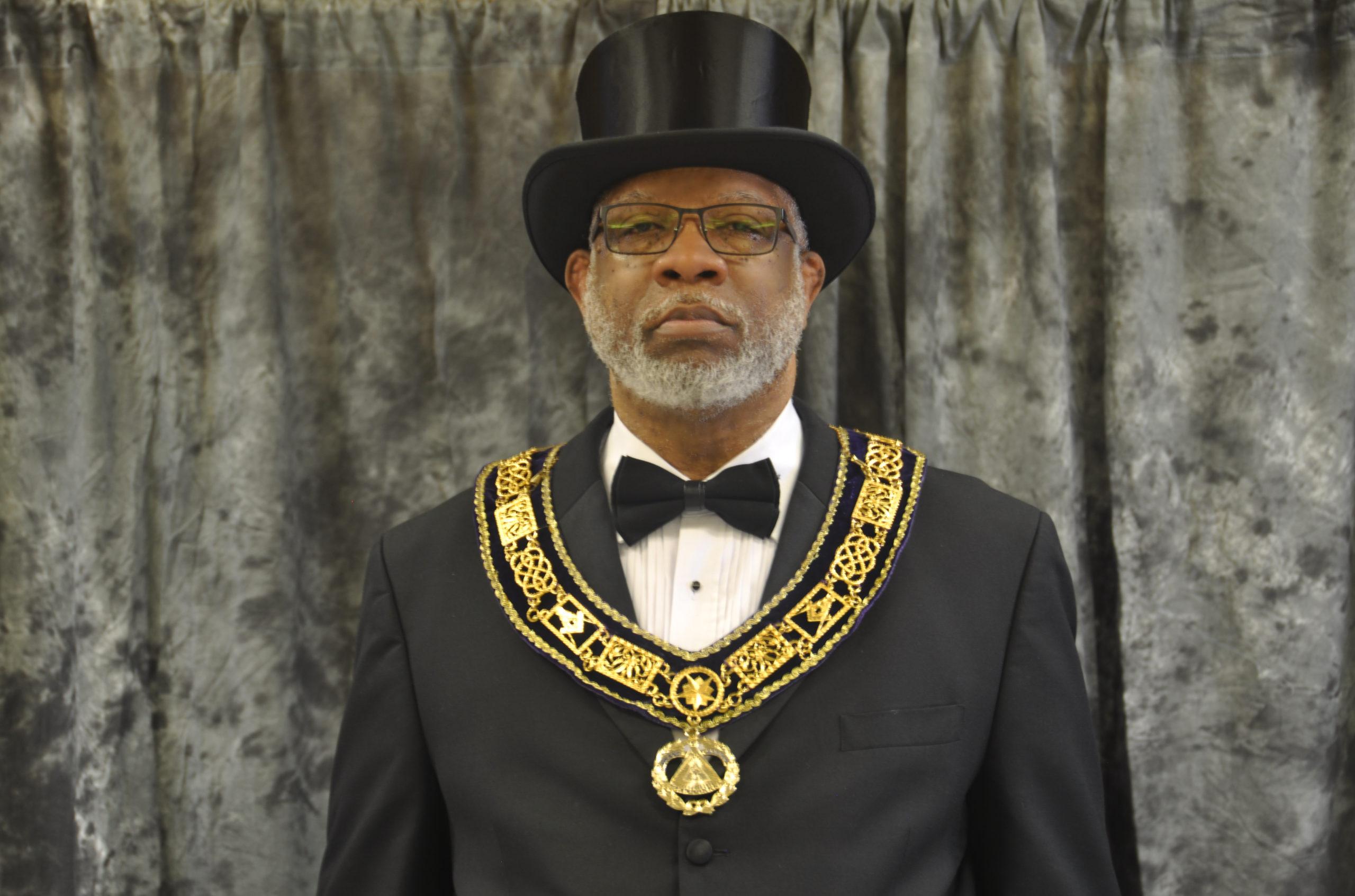 Most Worshipful Master Terry L. Winbush